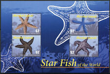 More details for marshall islands marine animals stamps 2020 mnh starfish of world seastar 4v m/s