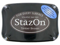 StazOn® Solvent Ink - TIMBER BROWN NEW sz41