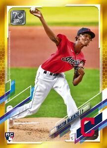 2021 Topps MLB Digital NFT Series 1 GOLD Triston McKenzie 331/881 RC ROOKIE