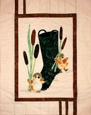 Cattails and Ducks Quilt sewing pattern  by Melanie Formway Chang