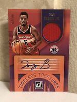 2018-19 Donruss Timeless Treasures Materials Signatures Troy Brown Jr RC RPA /99