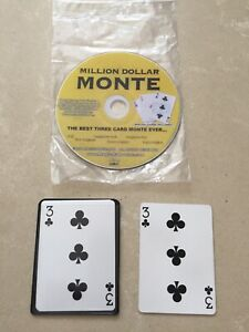 (K) Card Magic Trick Million Dollar Monte By Magic Makers