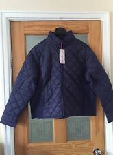 Ladies Your Style Guilted Jacket Navy Size 24