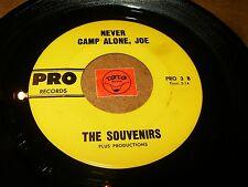 THE SOUVENIRS - NEVER CAMP ALONE JOE - SAILOR BOY  / LISTEN - GIRL GROUP POPCORN