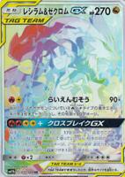 Reshiram Zekrom GX HR 071/049 SM11b Dream League Japanese Pokemon Card PCG
