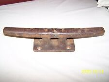 "VINTAGE / ANTIQUE 15"" CAST IRON BOAT DOCK CLEAT / TIE DOWN ~ NAUTICAL MARITIME"