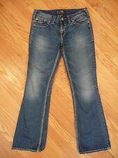 Womens Silver Brand Suki Surplus Bootcut Stretch Medium Denim Jeans Sz 28 x 32