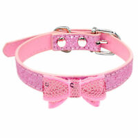 Bling Girl Dog Puppy Pet Collars for Small Medium Breeds Adjust Neck for 10-15""
