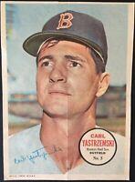 1967 Topps Pin-ups #5 Carl Yastrzemski Boston Red Sox HOF