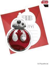 Star Wars The Last Jedi - 8 Party Invitations & Envelopes