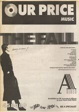 8/9/90 Pgn63 Advert: The Fall a Sides All Their Hits On Album Now 15x11