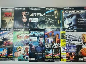 Playstation Magazine PS2 20 Demo Disc Lot Brand New Sealed Def Jam Fight For NY