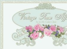 Shabby Vtg Chic Pink Roses Wedding Ebay Compliant Listing Auction Template