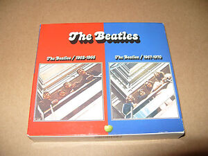The Beatles 1962-1966 The Beatle 1967-1970 4 cd 54 track 2009 digipaks cds Ex+