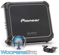 PIONEER GM-D8704 CAR AMP 4-CHANNEL 1200W COMPONENT SPEAKERS TWEETERS AMPLIFIER