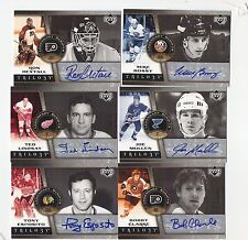 06-07 UD Trilogy Joe Mullen Legendary Scripts autograph #'d/50