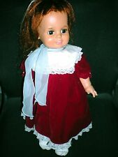 """Crissy - 1972 Ideal Toy Co. doll, GHB-H-225, pull string, vintage, USA, 23"""" tall"""