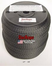 """250' 1/4"""" 100% Dacron Polyester Rope, Doomsday Prepper, Dipole Antenna, Longwire"""