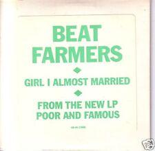 BEAT FARMERS Girl PROMO CD single Country Dick Montana
