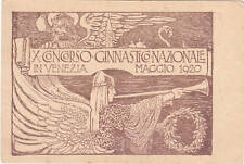 * VENEZIA - X Concorso Ginnastico Nazionale 1920