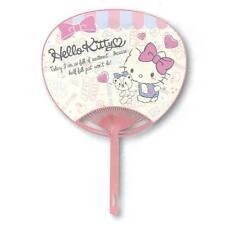 New Hello Kitty Character Fan Uchiwa from JAPAN