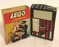 LEGO System *Box Only* 233 Light Masts Vintage 1950s Rare