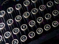 Foto dettagli stile retrò vintage macchina da scrivere TASTIERA art print poster MP3916A