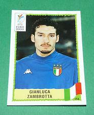 N°178 GIANLUCA ZAMBROTTA ITALIA ITALY ITALIE PANINI FOOTBALL UEFA EURO 2000