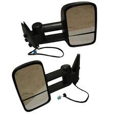 Fits 2003-06 Silverado Sierra Pickup Towing POWER HEATED Telescoping Mirrors Set