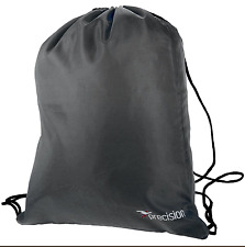 Precision Training Lightweight PU Gym Sack (43x34 cms) Black Football Boots