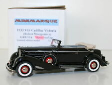 MINIMARQUE 1/43 GRB91A - 1933 V16 CADILLAC VICTORIA ROBERT MONTGOMERY OPEN VER