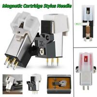 Magnetic Cartridge Stylus Needle For LP Vinyl Turntable Record Player Phonograph