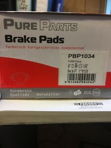 Pure Parts Front Brake Pads Ford Focus 98-05 PBP1034
