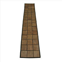 Faux Crystal Table Runner 13x72 inches Brown