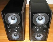 Polk Audio LSi9 Bookshelf Speakers Black Finish Pair