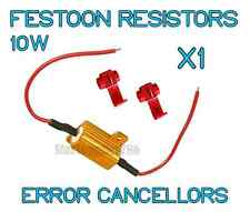 1x FESTOON ERROR RESISTORS 10W CANBUS NO ERROR LOAD RESISTORS 4W-6W W5W T10 BA9S
