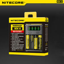 Nitecore New i4 Charger intelligent For Li-ion Ni-MH IMR 18650 14500 Batteries