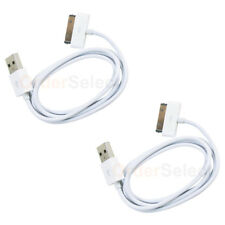 2 NEW USB Battery Data Sync Charger Cable for Apple iPhone 1 2 3 3G 3GS 4 4G 4S