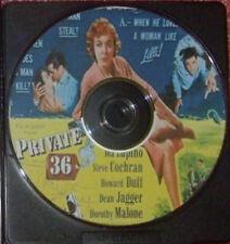 FILM NOIR 087: PRIVATE HELL 36 (1953) Don Siegel, Ida Lupino, Steve Cochran
