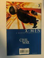 Civil War X-Men #3 November 2006 Marvel Comics Layman Hine Paquette