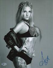 Anastasia Yankova Signed 11x14 Photo BAS COA Bellator MMA Picture Autograph 7