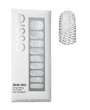 Essie Sleek Stick UV Cured Nail Appliqué #20 Sneek-e Silver Croc Print