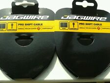 Jagwire Teflon Coated Campagnolo Gear/Derailleur Inner Cables. Pair Of. New