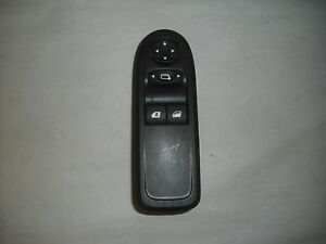 commande de leve vitre et de retroviseur de c3 , conducteur (ref 3814)