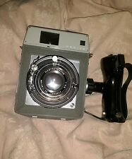 Camera Mamiya Press Sekor 90mm lens focusing screen ground glass back very rare