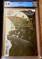 VENOM #25 CGC 9.8 1ST PRINT VIRUS DONNY CATES (2020) MARVEL NM+