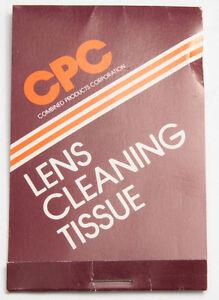 CPC Lens Tissue Pack - VINTAGE X555