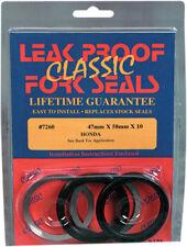 Leak Proof Seals LEAK PROOF FORK SEAL Kit 47MM X 58MM X10 Honda Suzuki 7260 47mm