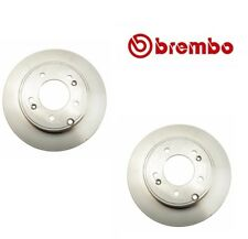 For Set of 2 Rear Disc Brake Rotors Brembo 08B56710 For Hyundai Azera Kia Optima