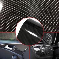 6D Waterproof Carbon Fiber Vinyl Car Wrap Sheet Roll Film Sticker Decal Paper